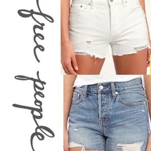 TWO💥NWT FREE PEOPLE SHORTS 💥